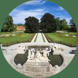 Zámecká zahrada v Českém Krumlově